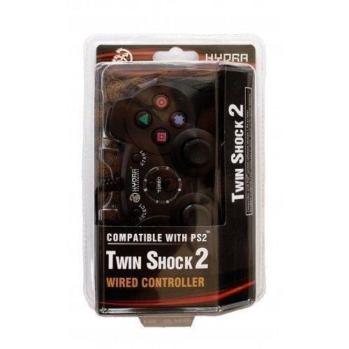 Hydra Performance PS2 Wired Analog Controller TWINSHOCK for Sony PlayStation 2