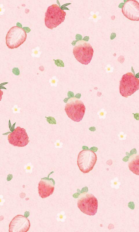 Cute Phone Lockscreen Tumblr Fruit Wallpaper Kawaii Wallpaper Wallpaper Iphone Cute
