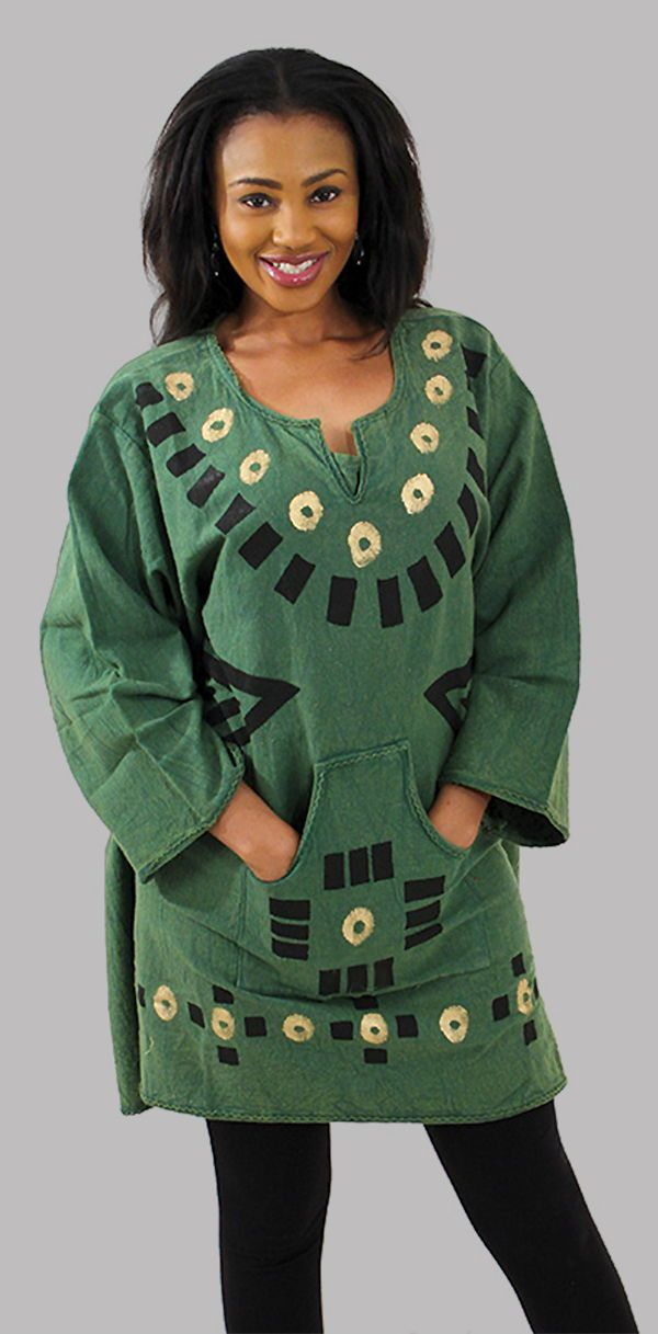 Heavy Cloth Mud Print Dashiki - Beautiful and bold women's African dashiki shirt in a wide range of colors including yellow, mustard, white, black, and blue.  Celebrate your love of African style and culture with this bold African mud cloth shirt.  It is perfect for travel since its both comfortable and classy enough to wear out to dinner.  Click to see all of the color options for this adorable mud cloth shirt.  #mudcloth #africa #african #fashion #africanfashion #womensfashion #tribal…