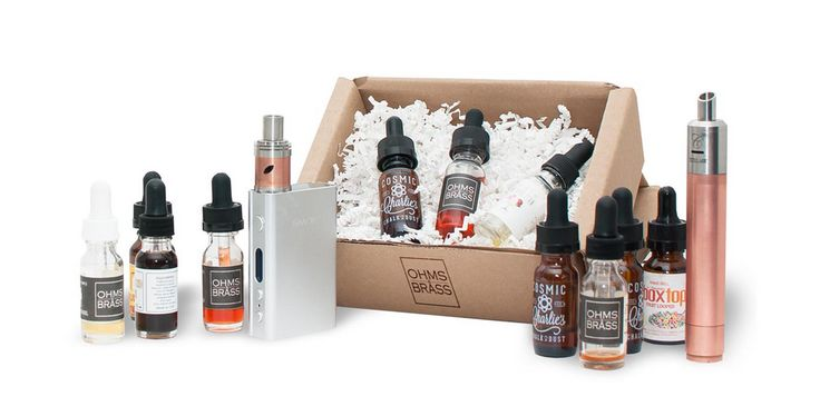 Ohms and Brass | The Best E Juice and E Liquid Subscription