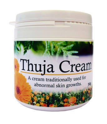 A cream traditionally used for sarcoids and other abnormal growths on horses.