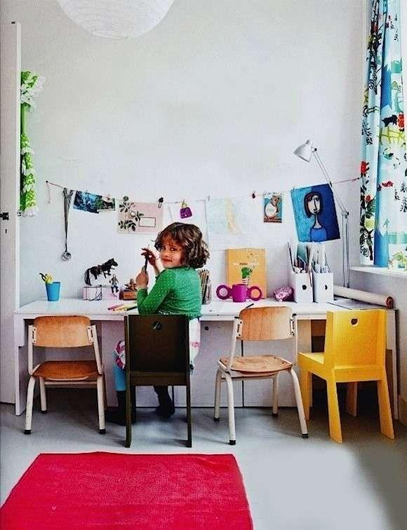 Angolo studio per ragazzi - Angolo studio per bambini
