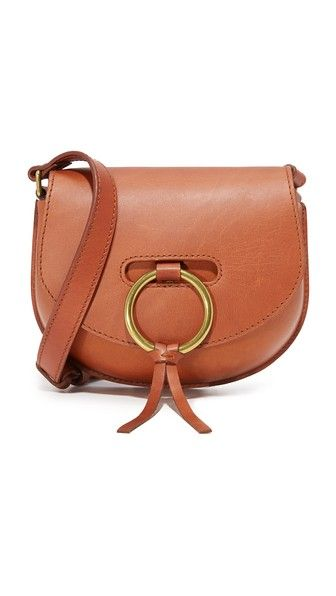 Madewell O Ring Mini Saddle Bag