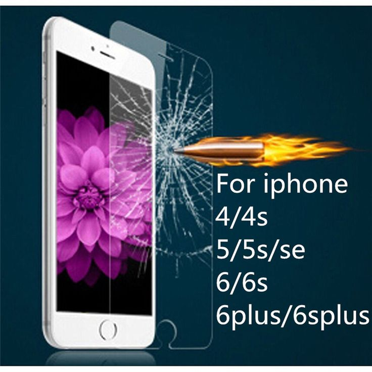 0.26mm 9H Hardness Explosion Proof Screen Protection Tempered Glass For apple iphone 4 4s 5 5s SE 6 6s plus 7 7plus 4.7&5.5inch