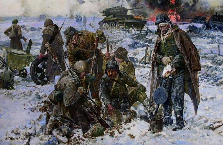 В. Сафронов - После боя