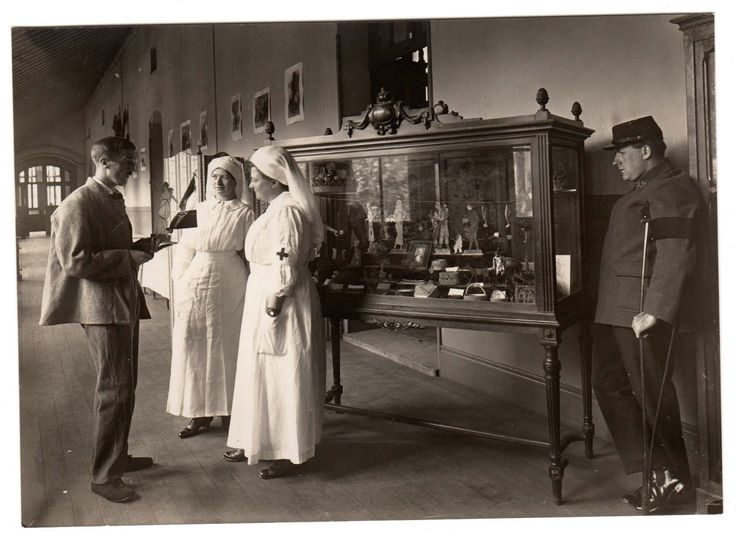 LIV00170 Photographie photo vintage original hôpital militaire WW1 médecine | eBay
