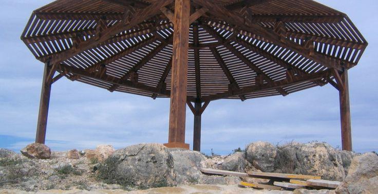 Pérgolas a 4 aguas o más - Incofusta fabrica de madera en Valencia
