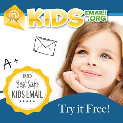 KidsEmail.org gives your kids a safe emailing platform. So they can stay connected to distant family members.  Http://www.asamplingbee.blogspot.com