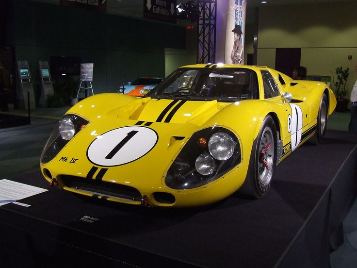 1967 Ford GT40 Mk IV, which was developed from the J-car. This particular car, J-4, won the 1967 12 Hours of Sebring.