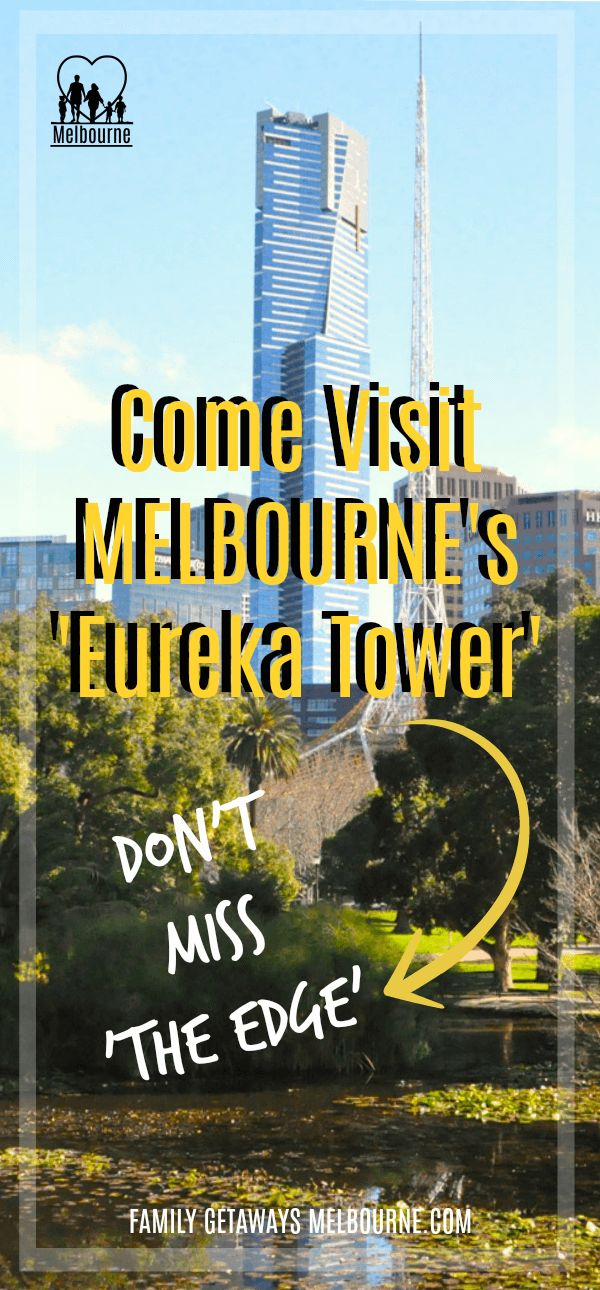 The Eureka Tower is the tallest building in the Melbourne central business district. Click the image for more information.