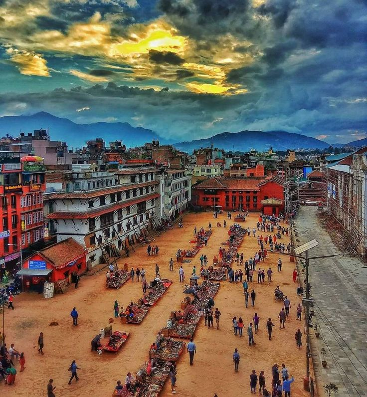Basantapur Durbar Square during evening time . .  By Nhuchhe Raj Shakya