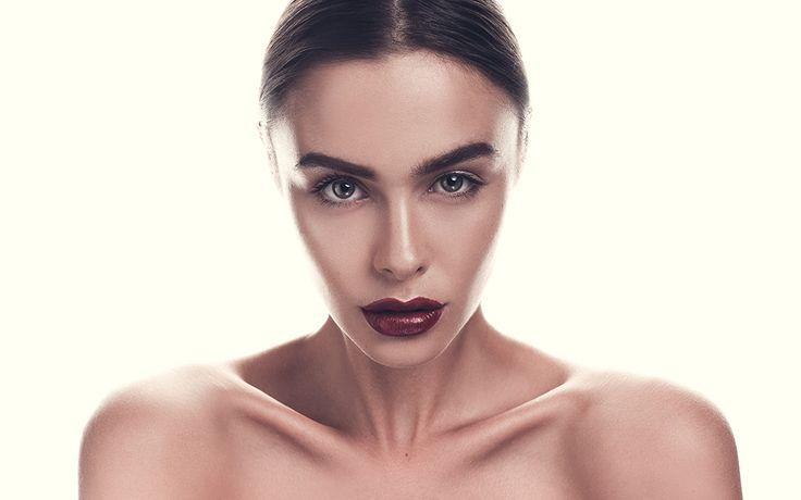 High-key beauty shot. #beauty #H&M #makeup #studio #mikeyandersson