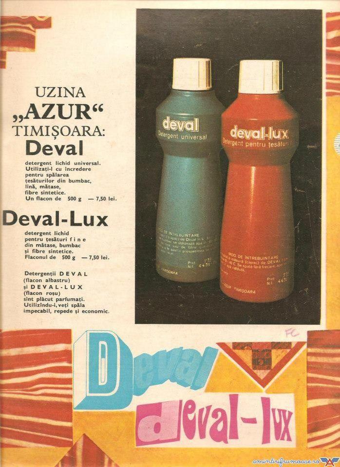 Detergent Deval Lux