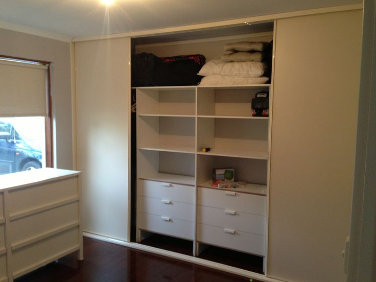 Ikea hack! DIY wardrobe with ikea chest of 3 drawers which was only 70 bucks!