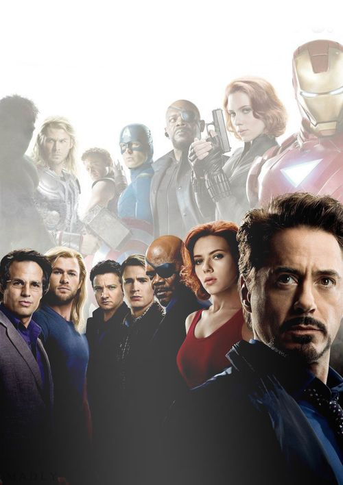 100 bucks says Tony Stark was originally somewhere in the middle of this photo set but didn't like it so he got JARVIS to do some photoshop Mumbai jumbo to fix him so prominently in front.