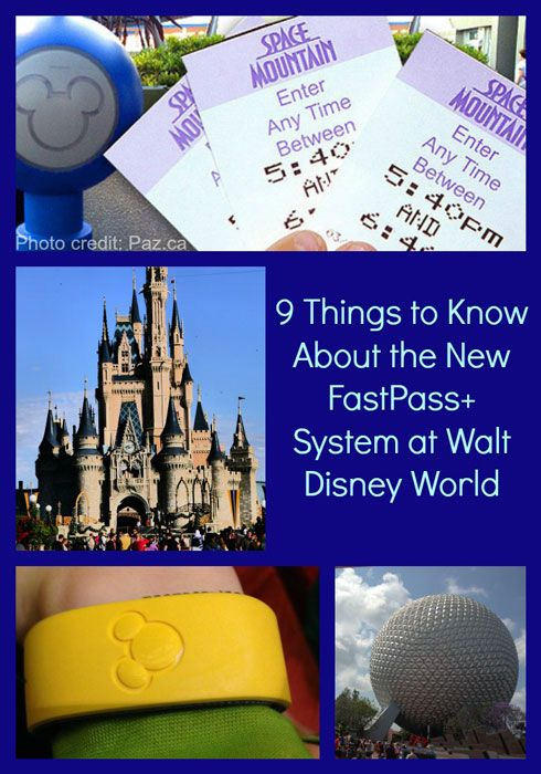 9 Things to Know About the New FastPass+ System at Walt Disney World #disney #familytravel