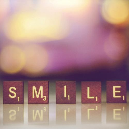 sometimes its hard to remember. but SMILE! it doesn't hurt anyone, and if it does, they don't deserve you anyway.