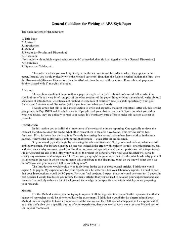 abstract for research paper apa style Tips for writing a research paper in apa format: content or in your writing style – see below) and to focus on research findings that abstract should.