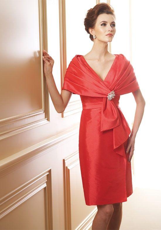 Elegant Mother Bride Dresses orange | mother of the bride dresses you mother can not only display elegance ...