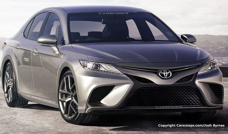 2018 Toyota Camry Rendering