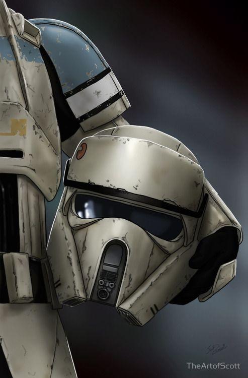 Scarif Stormtrooper Helmet Series - TheArtofScott
