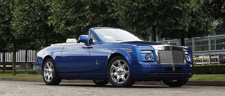 Rolls Royce Phantom - convertible