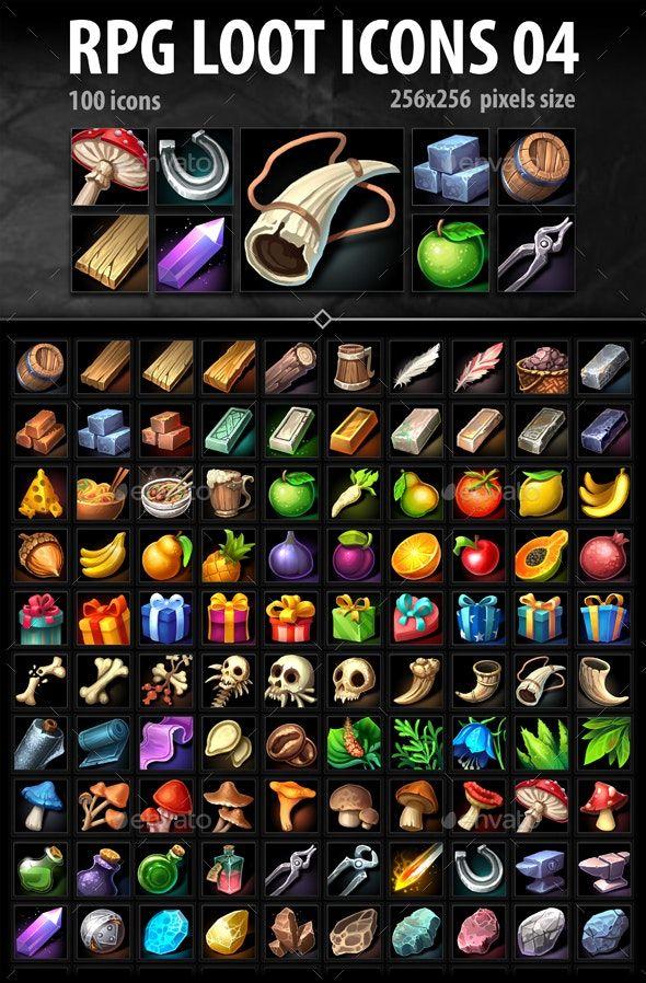 RPG Loot Icons 04
