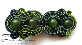 Gorgeous soutache hair clip!!