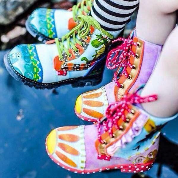 Bottes - Chaussures enfant Dragon et Fée ! Taly-ana.com 30$ seulement