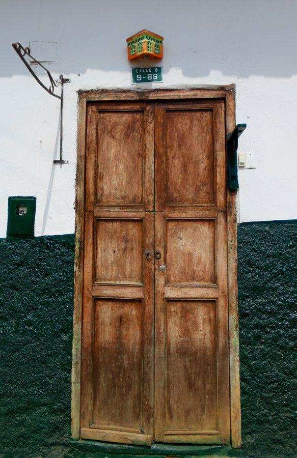 Spanish Colonial Door, Curití, Colombia by Adam Rainoff on 500px