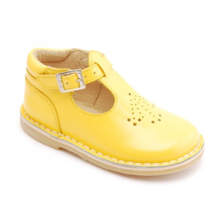 Mini Lottie Yellow Leather Classic Shoes - Classics - Girls Shoes. Love  these!