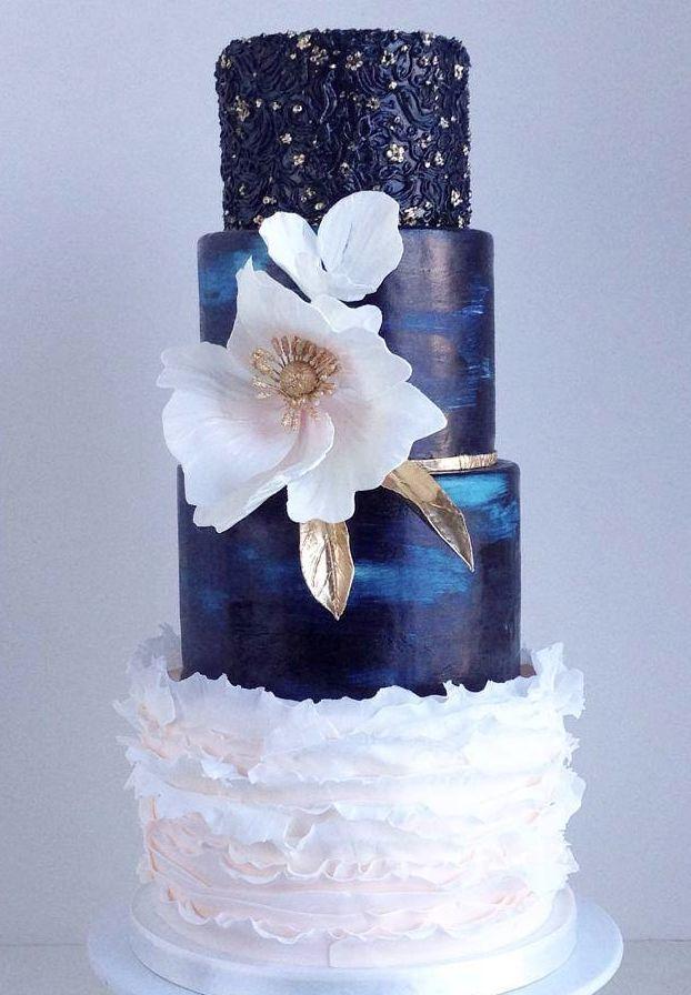 Beautiful wedding cake ideas; via The Cake Whisperer