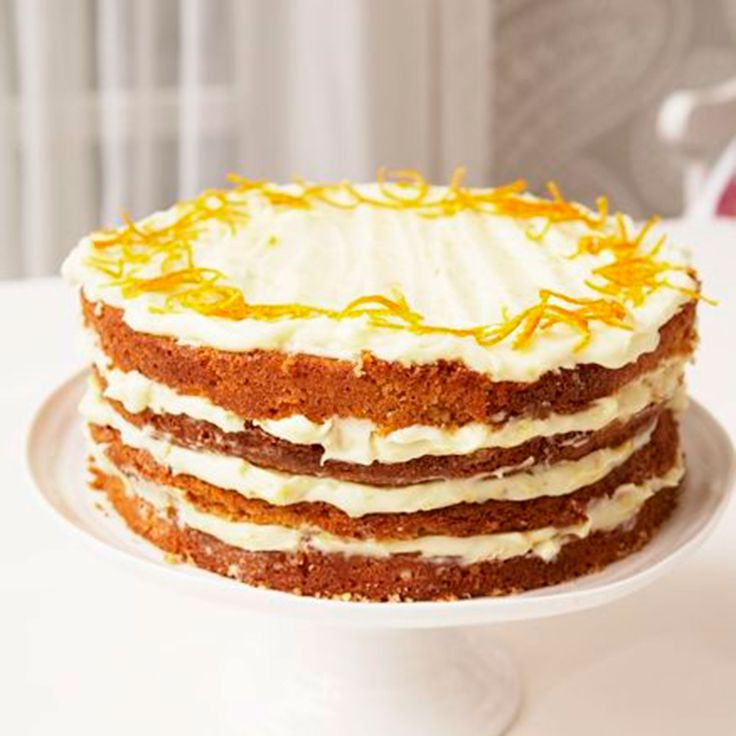 Mary Berry's orange layer cake is light and zesty, looks so pretty and makes a delicious teatime treat or celebration cake