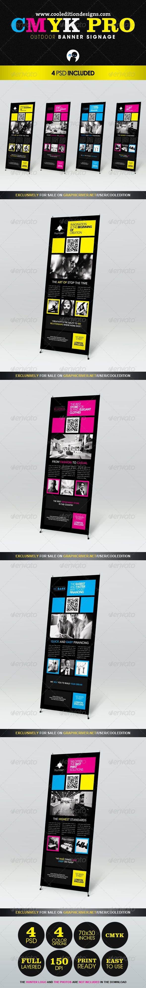 Design a banner to print - Cmyk Pro Outdoor Banner Signage
