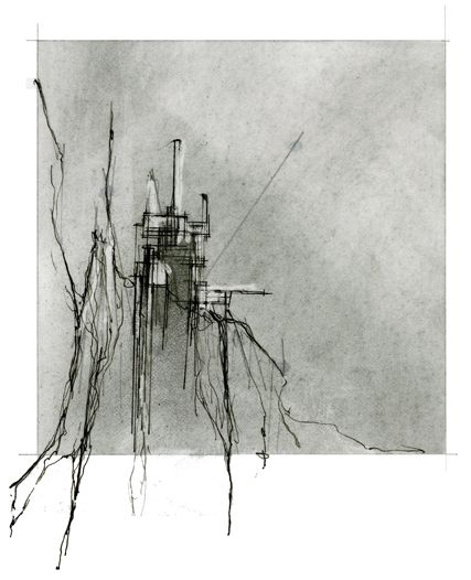 "ISSUE: 007, ""Observatory, Restaurant Tower, Thekla"" [designed by Johanna Reed;  Sketch concept"