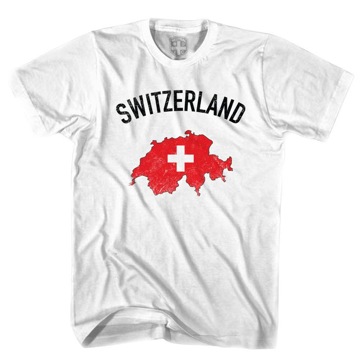 Switzerland Flag & Country T-shirt