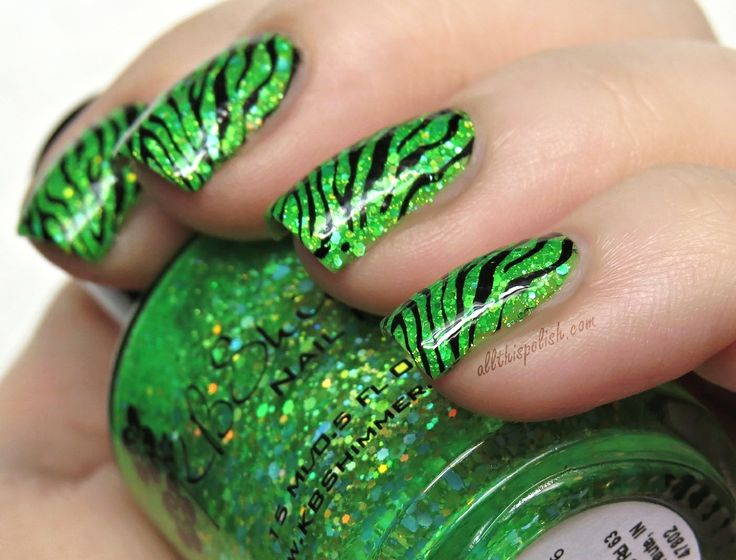 Mejores 1327 imágenes de Animal Print Nail Art en Pinterest | Arte ...