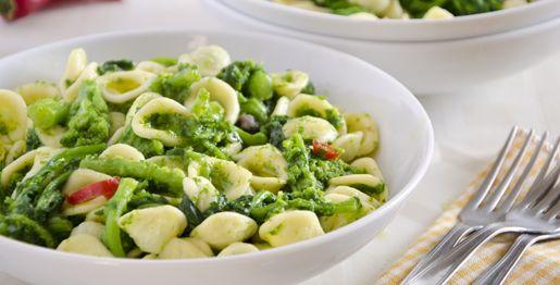 Ingredienti      1,5 kg di cime di rapa     400 g di orecchiette     uno spicchio d'aglio     6 cucchiai di olio di oliva     un peperoncino piccante     2 acciughe sott'olio     sale q.b.See more at: http://www.paciulina.it/ricette/orecchiette-con-le-cime-di-rapa/#sthash.HOJ4kNqP.dpuf