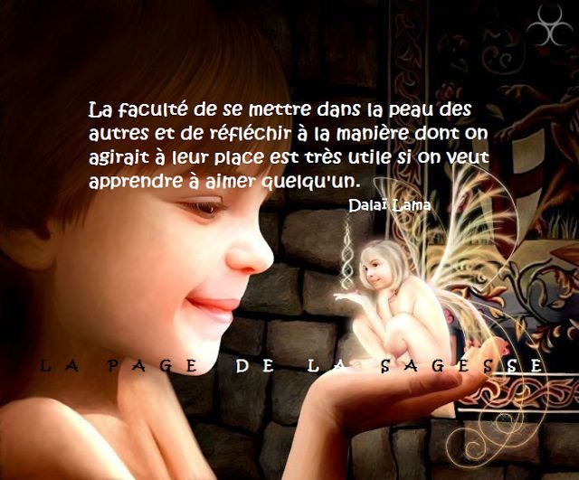 La Page de la Sagesse : Citation sur la compassion. Dalaï Lama                                                                                                                                                      Plus
