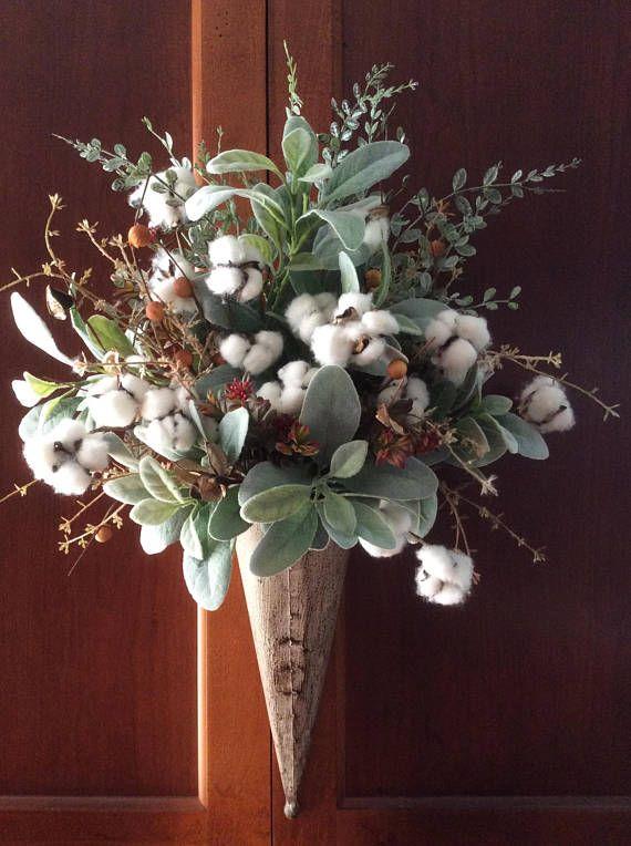 Best 10 Cotton Wreath Ideas On Pinterest Cotton Decor