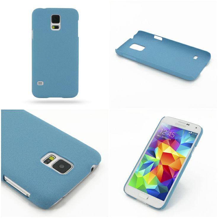PDair Shield Hard Case for Samsung Galaxy S5 SM-G900 (Blue/Matte)