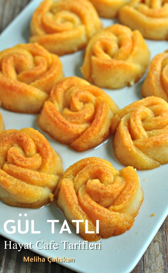 Turkish sweet: Gül Tatlı
