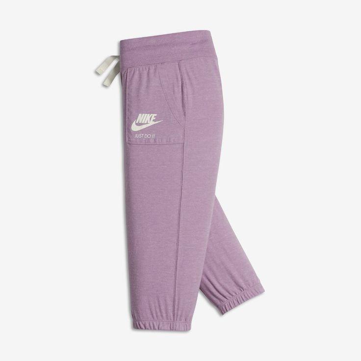 Nike Sportswear Gym Vintage Big Kids' (Girls') Capri Pants Size