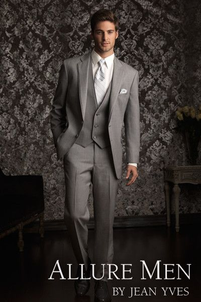 Heather Grey Allure Tuxedo by Allure Men