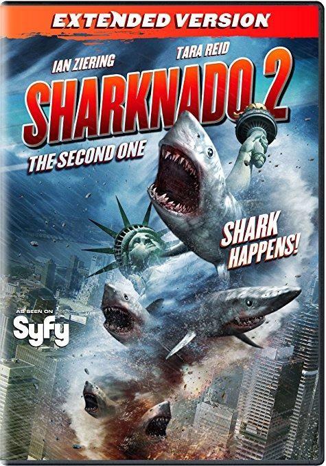 Ian Ziering & Tara Reid & Anthony C. Ferrante-Sharknado 2: The Second One