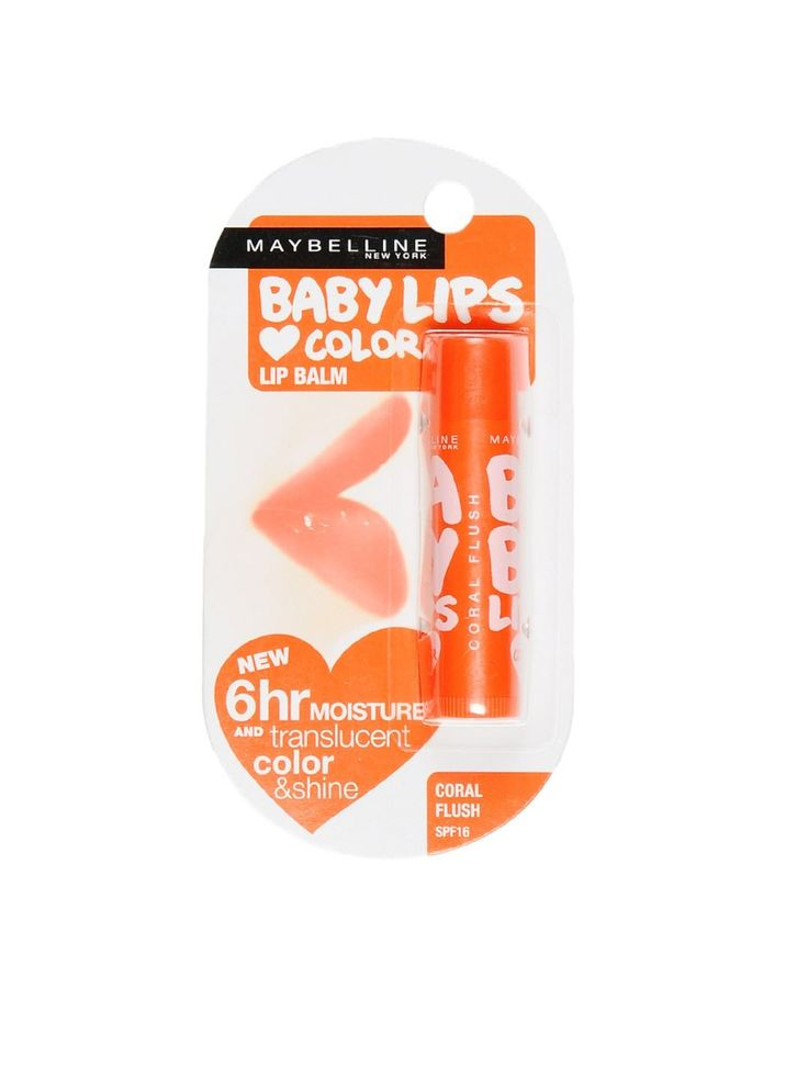 Maybelline Baby Lips Coral Flush Lip Balm Buy Online at Best Price in India: BigChemist.com