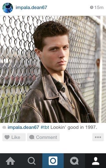 """Community Post: If Dean Winchester From """"Supernatural"""" Had Instagram"""