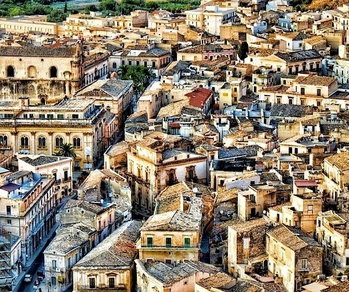 Scicli, the ancient city in Sicily