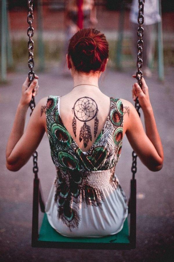 capteur de reve  a tatouer   #tatouageindien #tattooattrapereve  Retrouvez la signification du tattoo attrape-reve: http://tatouagefemme.eu/tatouage-attrape-reve-femme/