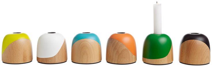 Modern home decor accessories - candlesticks from BoConcept